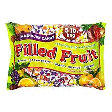 Washburn Fruit Filled Hard Candy Assorted