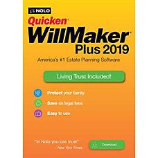 Quicken WillMaker Plus 2019 Living Trust