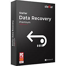 Stellar Data Recovery Software Windows Premium