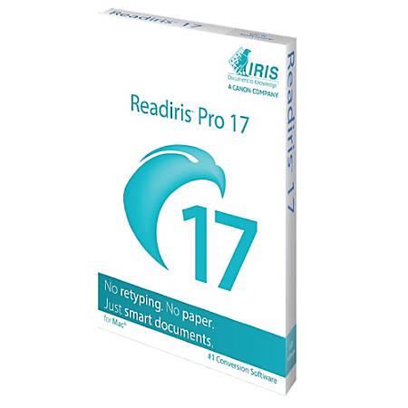 Readiris Pro 17Mac-1 lic. Mac