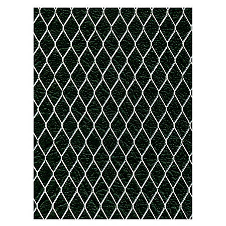 "Amaco WireForm Metal Mesh, Aluminum, Woven Gallery Mesh, 1/2"" Pattern, 10' x 20"" Roll"