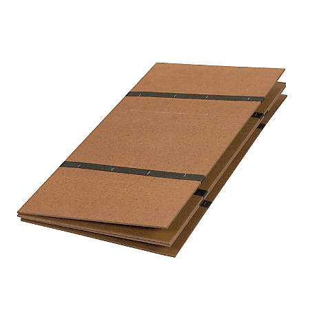 "DMI® Folding Bed Board, 48""H x 60""W x 3/4""D, Brown"