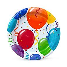 Artstyle Birthday Round Paper Plates 7