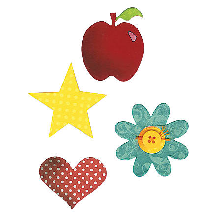 Sizzix® Bigz™ Dies, Apple, Flower, Heart And Star