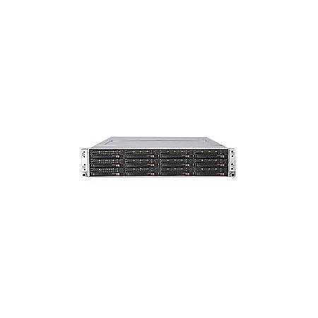 SuperServer 6026TT-D6IBXRF Barebone System - 2U Rack-mountable - Intel 5520 Chipset - Socket B LGA-1366 - 2 x Processor Support - Black
