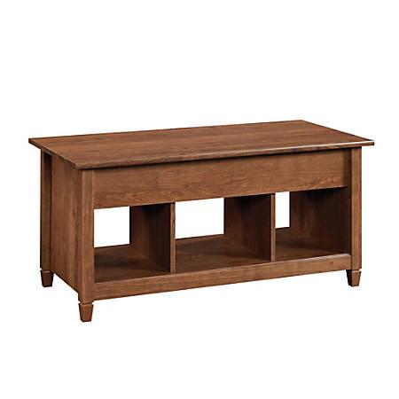 Sauder® Edge Water Lift-Top Coffee Table, Auburn Cherry
