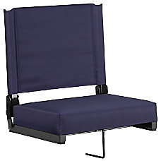 Flash Furniture Grandstand Comfort Seat NavyBlack