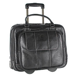 Kenneth Cole Reaction Vinyl Wheeled Overnighter
