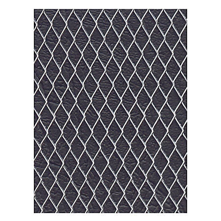 "Amaco WireForm Metal Mesh, Aluminum, Woven Studio Mesh, 3/8"" Pattern, 16"" x 20"" Sheets, Pack Of 3"