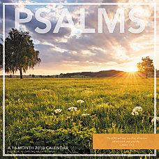 Landmark Psalms Monthly Wall Calendar 12