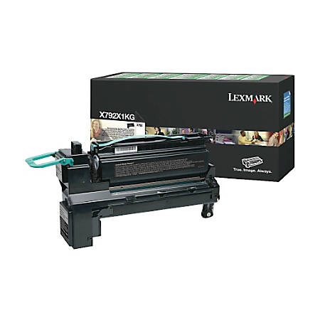 Lexmark™ X792X1KG Return Program Extra-High-Yield Black Toner Cartridge