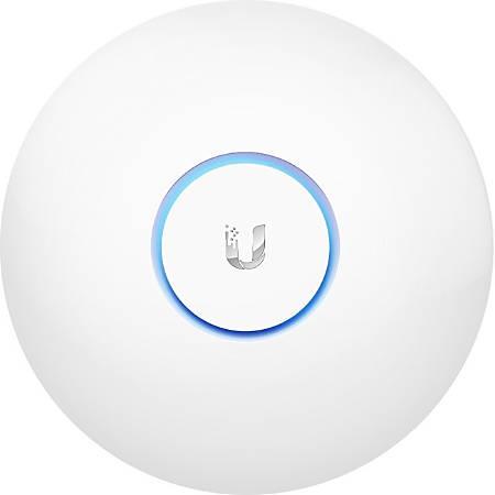 Ubiquiti UniFi UAP-AC-LR IEEE 802 11ac 867 Mbit/s Wireless Access Point -  2 40 GHz, 5 GHz - MIMO Technology - 1 x Network (RJ-45) - Ethernet, Fast