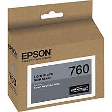 Epson 760 259 ml light black