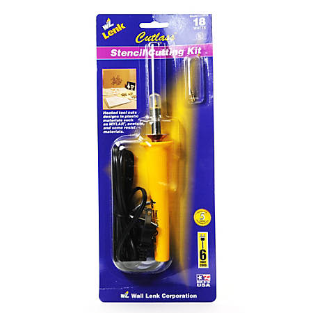 Wall Lenk Corporation Cutlass Stencil Cutting Tool
