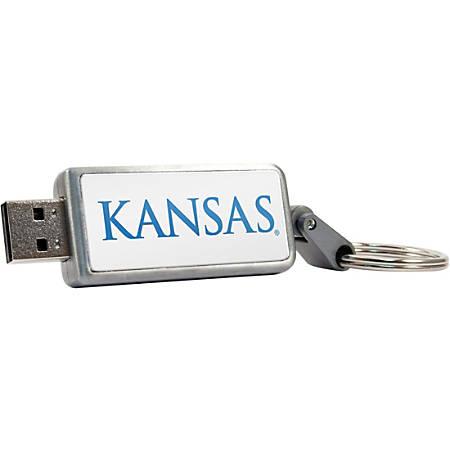 Centon 16GB Keychain V2 USB 2.0 University of Kansas - 16 GB - USB 2.0 - 1 Year Warranty