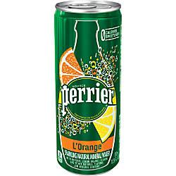 Perrier Flavored Sparkling Mineral Water LOrangeLemon