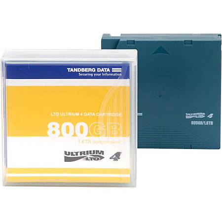 Overland LTO Ultrium 4 Data Cartridge with Custom Labeling - LTO-4 - Labeled - 800 GB (Native) / 1.60 TB (Compressed) - 20 Pack