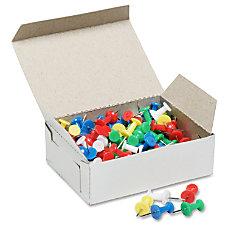 SKILCRAFT Color Pushpins Assorted Colors Box
