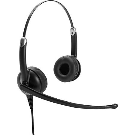 VXi Envoy UC Headset - Stereo - USB - Wired - 32 Ohm - 20 Hz - 20 kHz - Over-the-head - Binaural - Supra-aural - Noise Canceling
