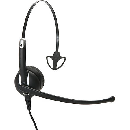 VXi Envoy UC Headset - Mono - USB - Wired - 32 Ohm - 20 Hz - 20 kHz - Over-the-head - Monaural - Supra-aural - Noise Cancelling Microphone