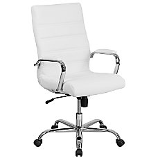 Flash Furniture Leather High Back Office