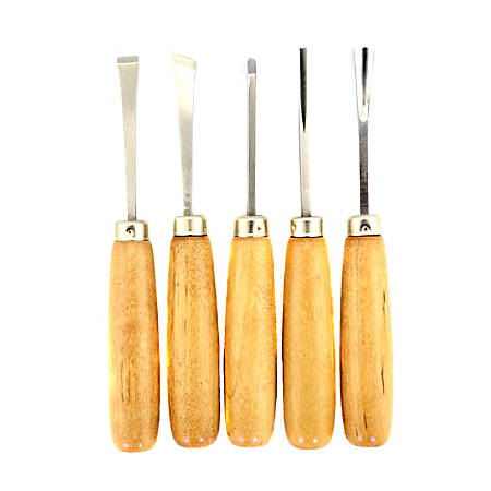 U J Ramelson 110 Wood Carving Set
