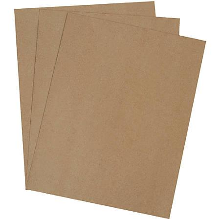 "Office Depot® Brand Heavy-Duty Chipboard Pads, 40"" x 48"", 100% Recycled, Kraft, Case Of 400"