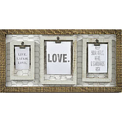 PTM Images Photo Frame Chicken White