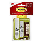 """Command™ Picture Hanging Strips, 1"""" x 2"""", White, Pack Of 24"""