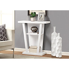 Monarch Specialties Hall Accent Table Trapezoid
