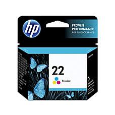 HP 22 Tricolor Original Ink Cartridge