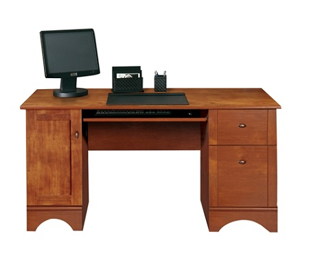 Computer Desk Brushed Maple Use And Keys To Zoom In Out Arrow Move The Zoomed Portion Of Image