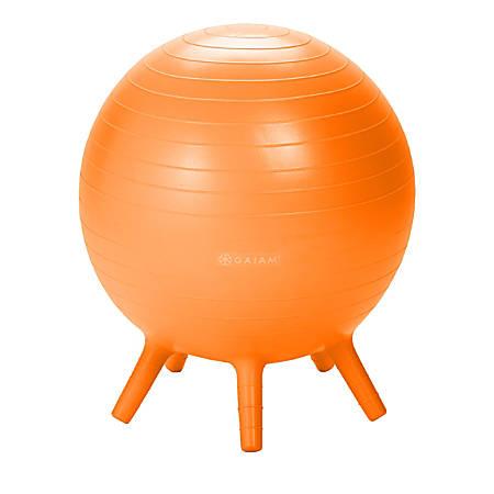 Gaiam Kids' Stay-N-Play Ball, Orange
