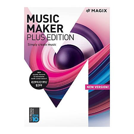 Magix Music Maker Plus Edition, Traditional Disc