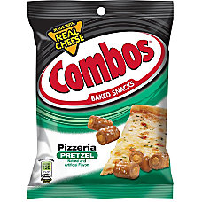 Combos Pizzeria Pretzel Baked Snacks 63