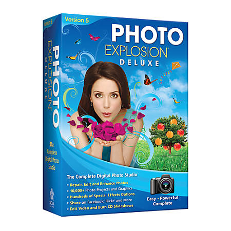 Photo Explosion® Deluxe 5.0, Traditional Disc