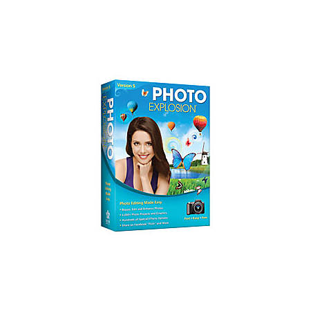 Photo Explosion® 5.0, Traditional Disc