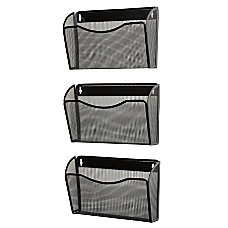 Rolodex Expressions Mesh 3 Pack Hanging