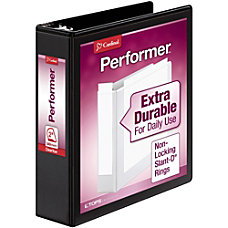 Cardinal Performer ClearVue Slant D Ring