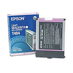 Epson T484 T484011 Light Magenta Ink