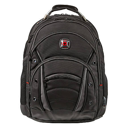 bf9a0e2e83f Wenger Synergy Ballistic Laptop Backpack Black - Office Depot