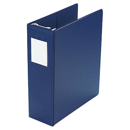 "Wilson Jones® Hanging Binder, 11"" x 8 1/2"", 2"" Rings, Blue"