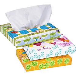 Kleenex 2 Ply Facial Tissue White