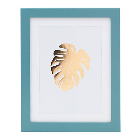 "Office Depot® Brand Gold Leaf Framed Artwork, 9-3/16"" x 11-1/4"""