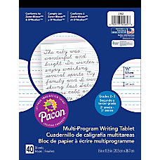 Pacon Multi Program Paper Tablet Grades