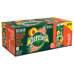 Perrier Sparkling Mineral Water Peach 845