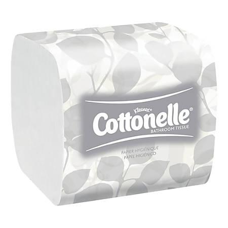 Kleenex® 2-Ply Bathroom Tissue, White, 250 Sheets Per Roll, Pack Of 36 Rolls