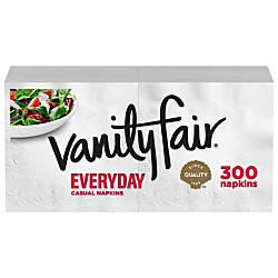Vanity Fair Everyday Napkins 2 Ply