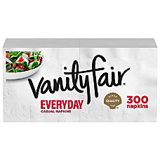 Vanity Fair 2 Ply Everyday Napkins