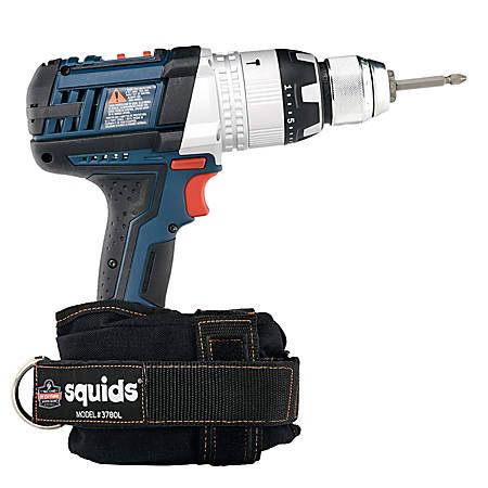 Ergodyne Squids® 3780 Power Tool Trap™, Large, Black